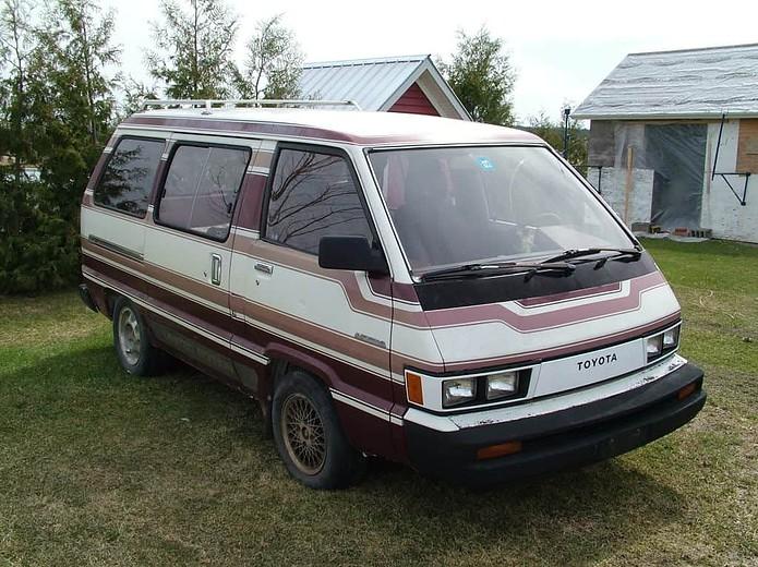 1985 Toyota Van