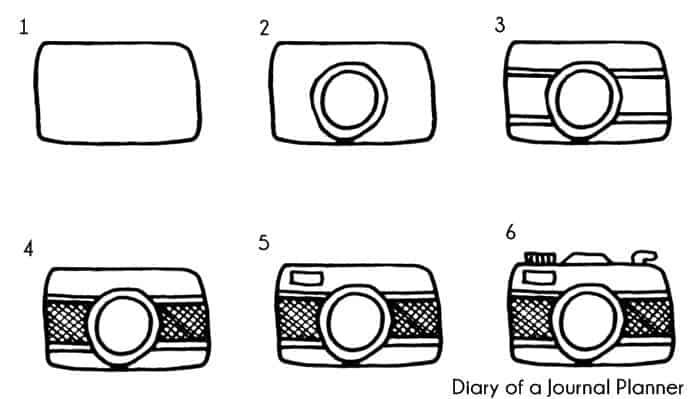 camera doodle tutorial