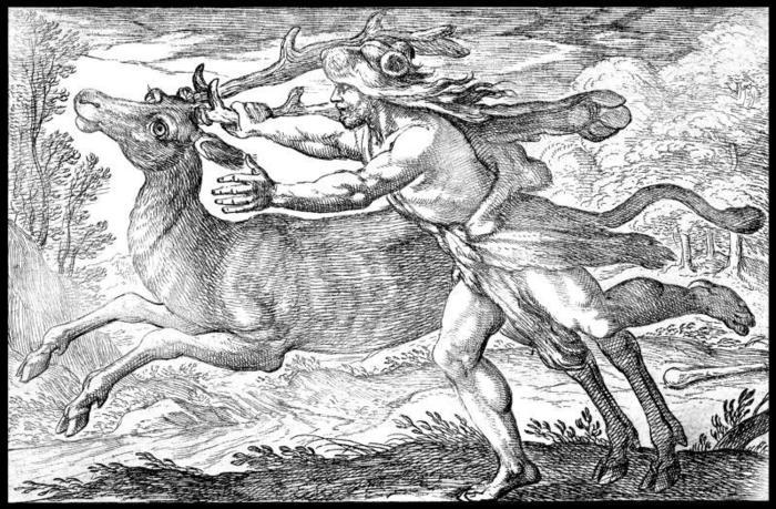 Il Segno del Sagittario e la fatica di Ercole: la cattura della cerva di Cerinea