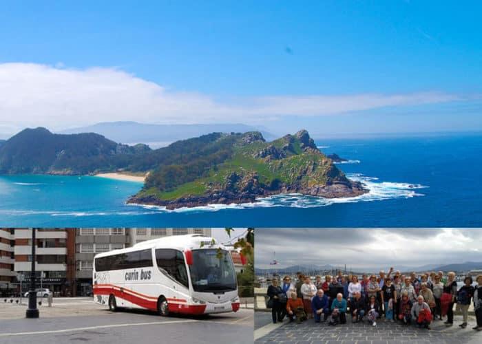 Viaje a las Rias Baixas desde Asturias autobús en Padrón