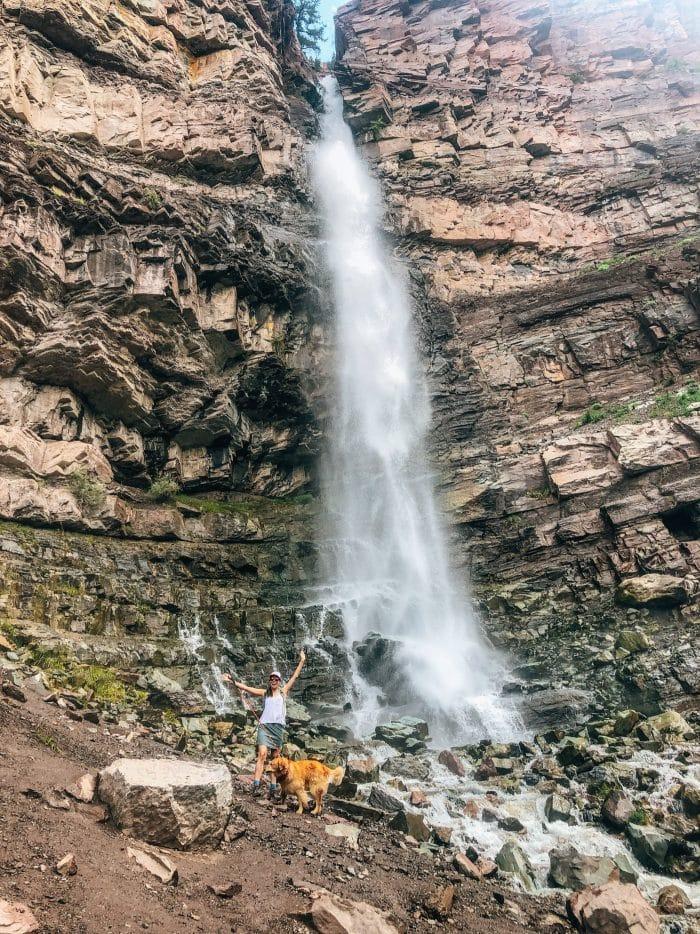 Cascade Falls Ouray Colorado