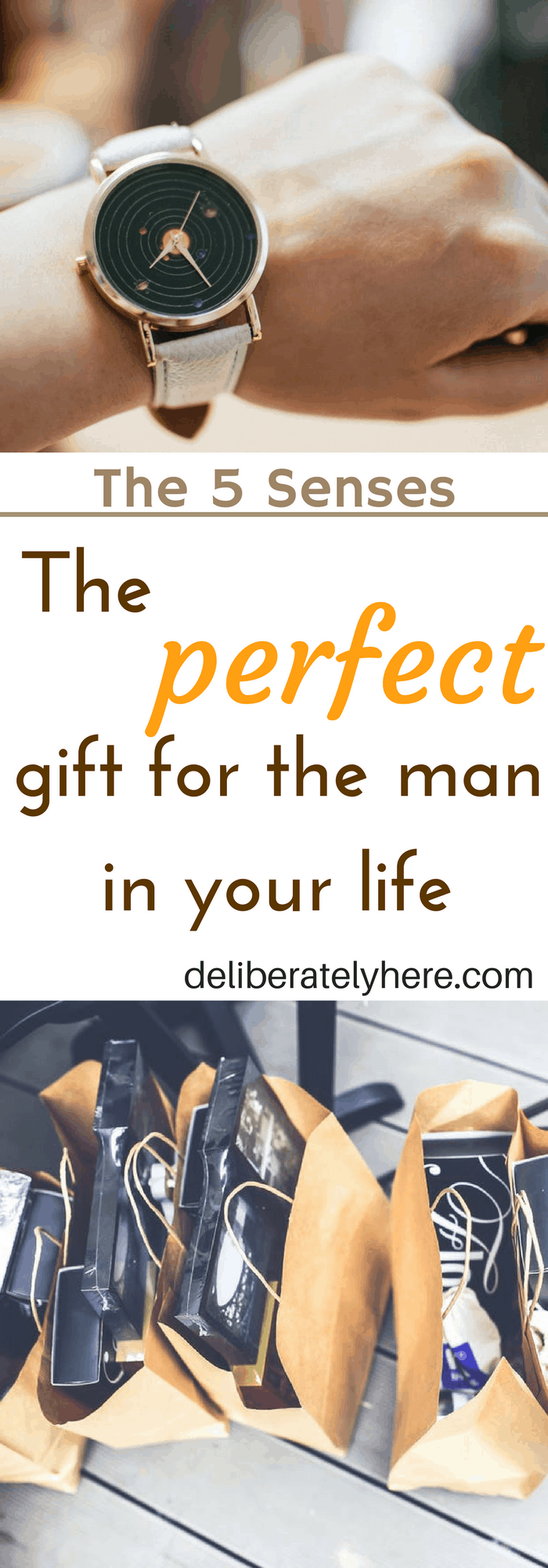 Create a 5 Senses Gift. The Perfect Gift for the Man in Your Life