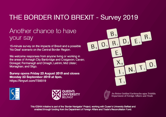 ICBAN-QUB Local Communities Survey on 'The Border Into Brexit'