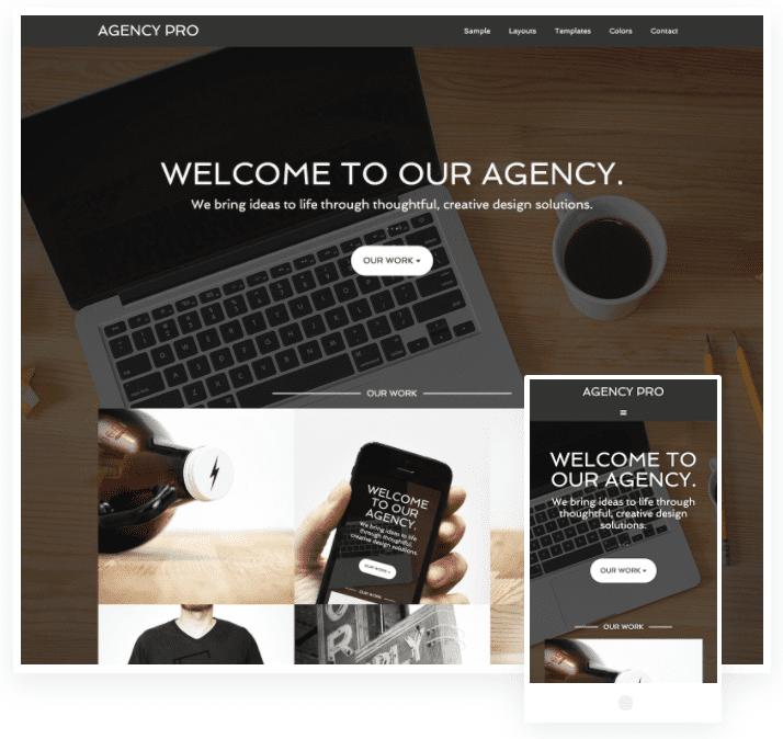 studiopress agency pro genesis wordpress theme