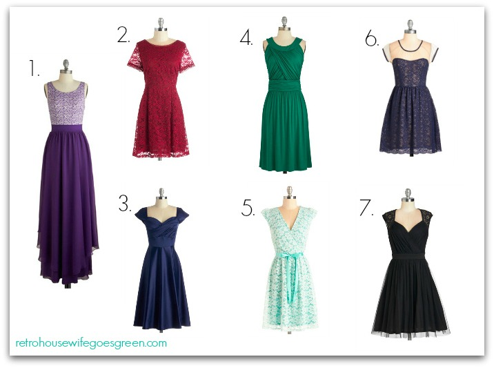 Made in the USA Dresses for Weddings #marriedinmodcloth