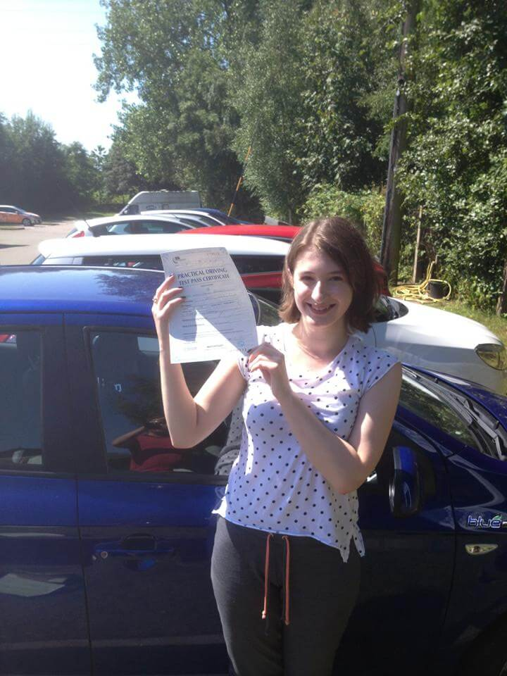 Keeley Passed First time