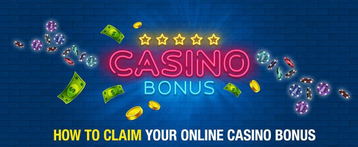 Claim Casino Bonus