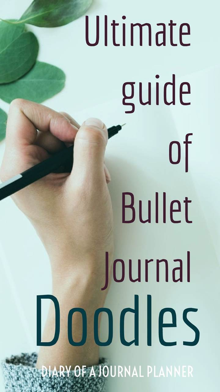 Guide of bullet journal doodles bullet journal