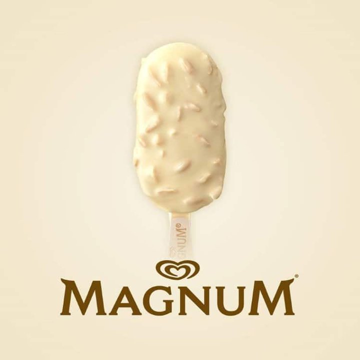 The Magnum White Chocolate Almond - Are you ready to #CelebrateWhite?