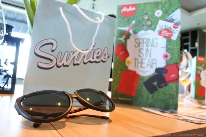 Sunnies sunglasses and more, now available on all Philippines AirAsia flights!