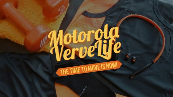Motorola VerveLife - The time to move is now