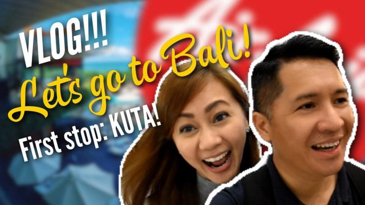 VLOG: Let's go to Bali, Indonesia! – First stop: KUTA!