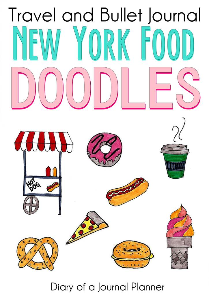 NYC guide to food doodles