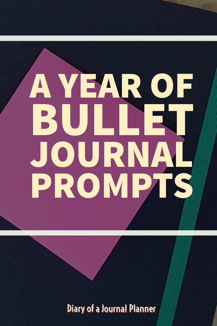 Bullet Journal prompts