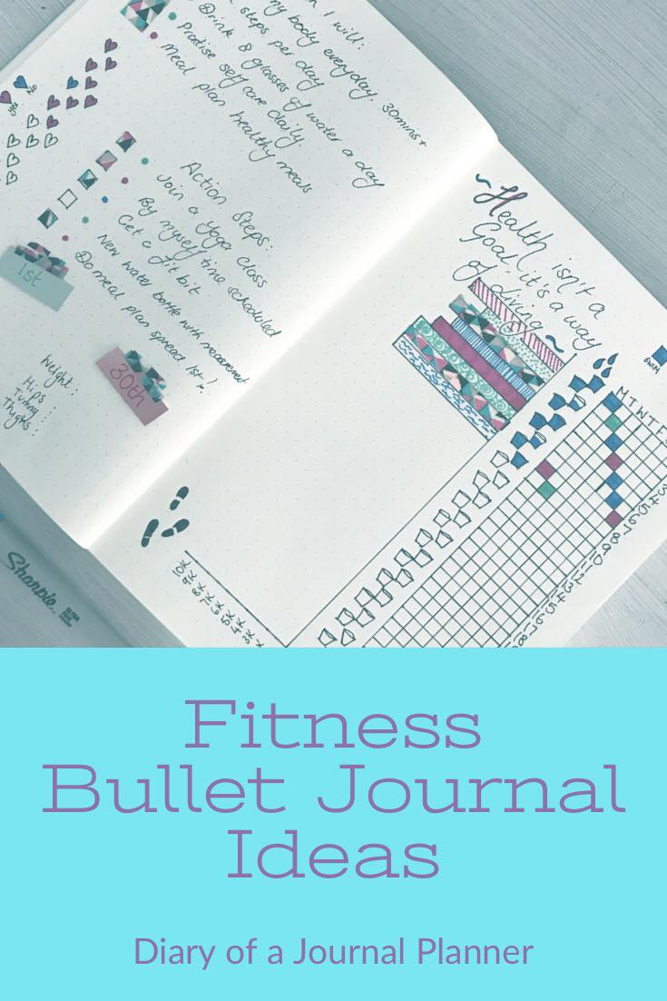 fitness bullet journal ideas , fitness bullet journal ideas layout and ideas to help you reach your fitness goals.