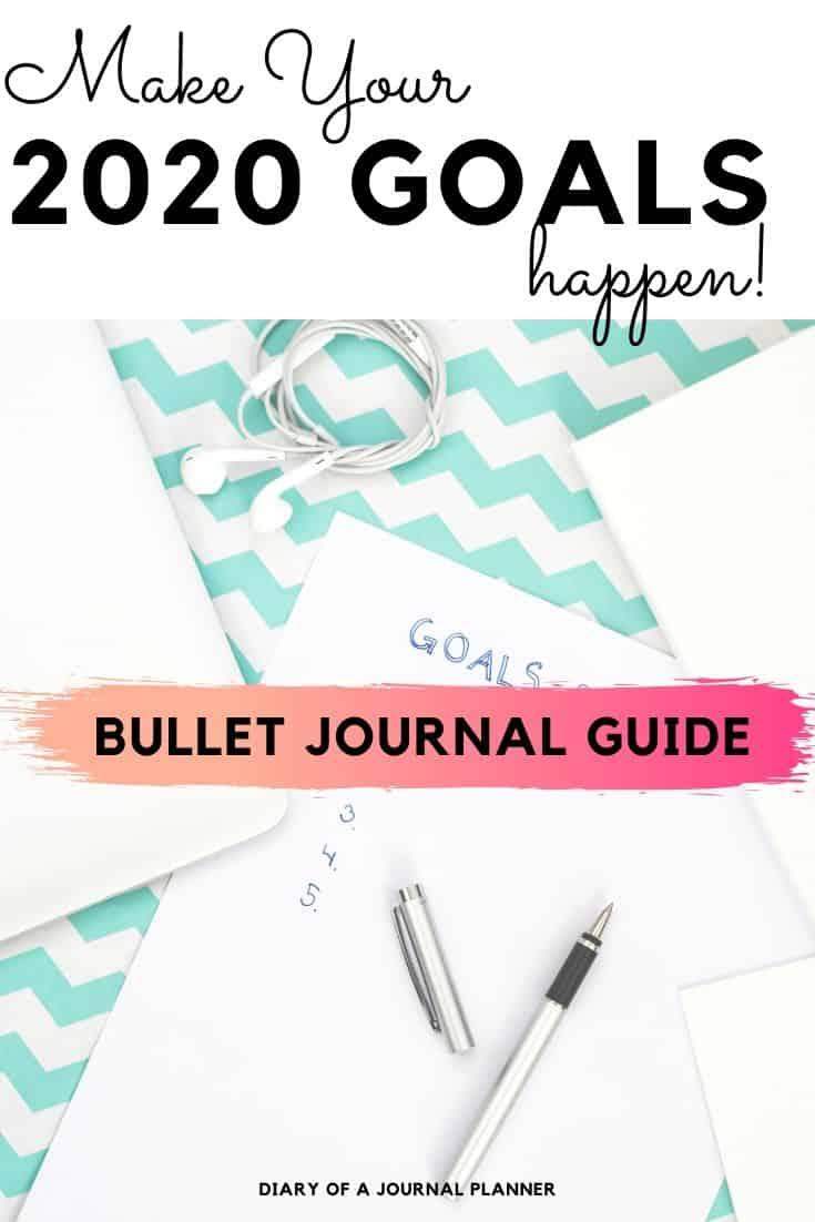Goal Setting Hacks For Bullet Journal