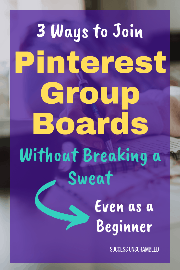 3 Ways to Join Pinterest Group Boards