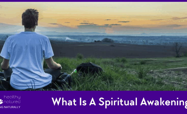 What Is A Spiritual Awakening? Man Meditating and looking towards the future