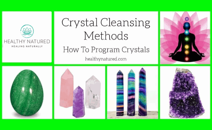 Crystal Cleansing Methods And How To Charge And Program Crystals