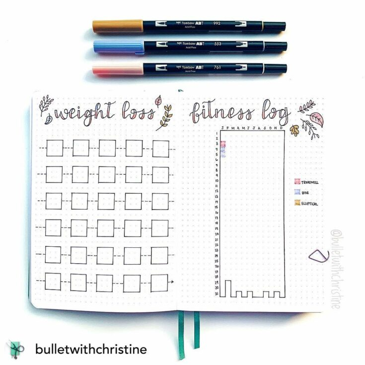 Weight loss Tracker and Fitness Log