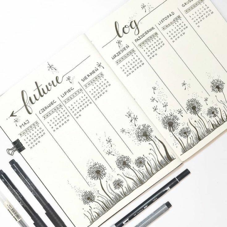 Bullet Journal Calendar