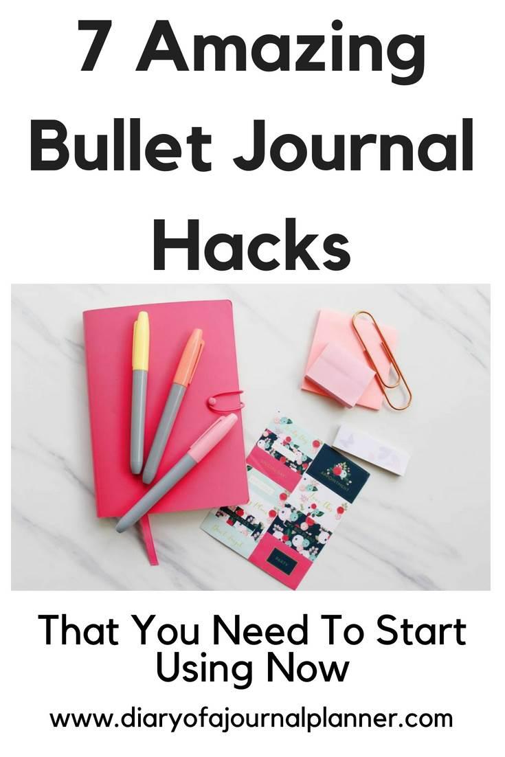 Diary hacks