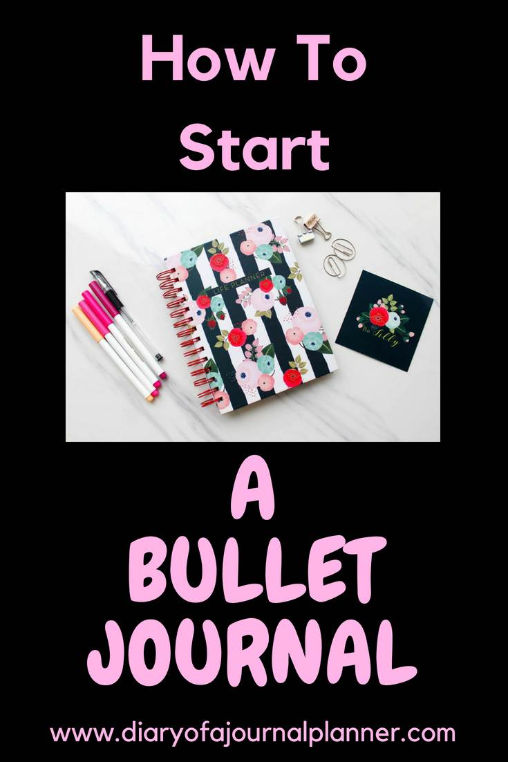 How to start a bullet journal #bulletjournal #bujo #journaling #planning
