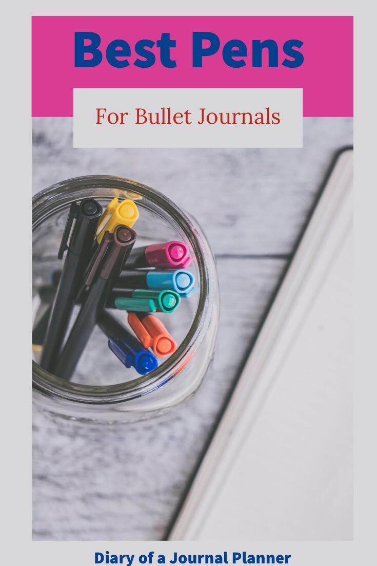 Pens for Bullet Journals