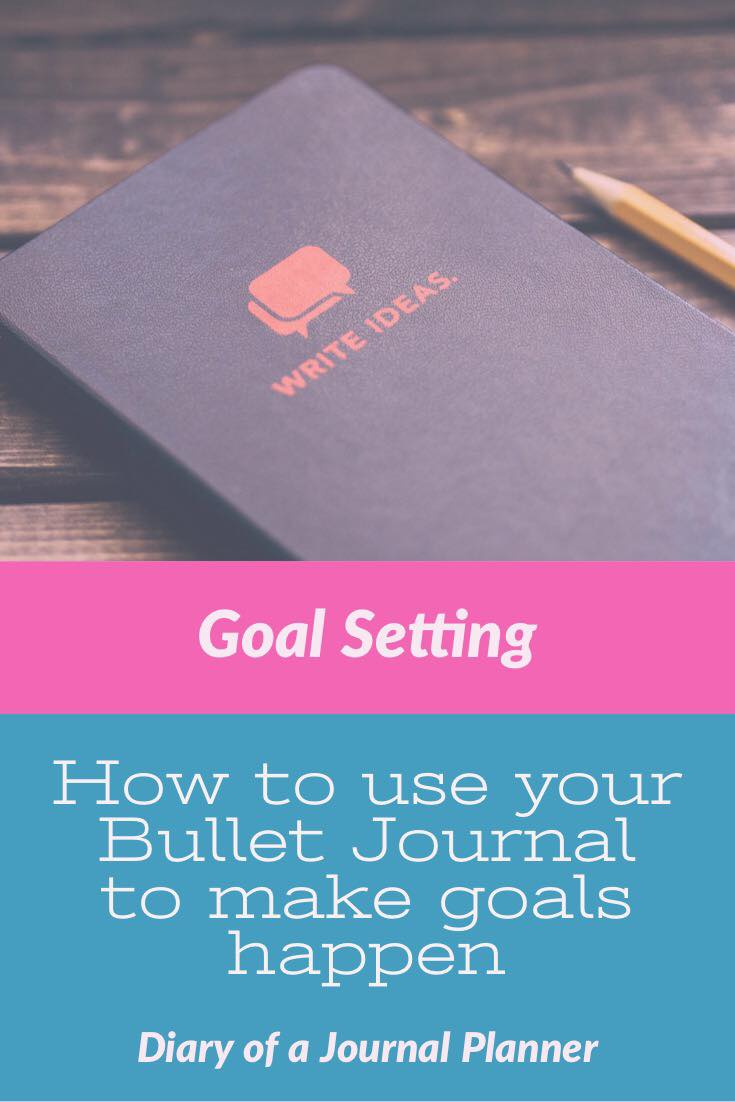 Learn how to set bullet journal goals, make a goals page layout and change your mindset to have the best year yet!