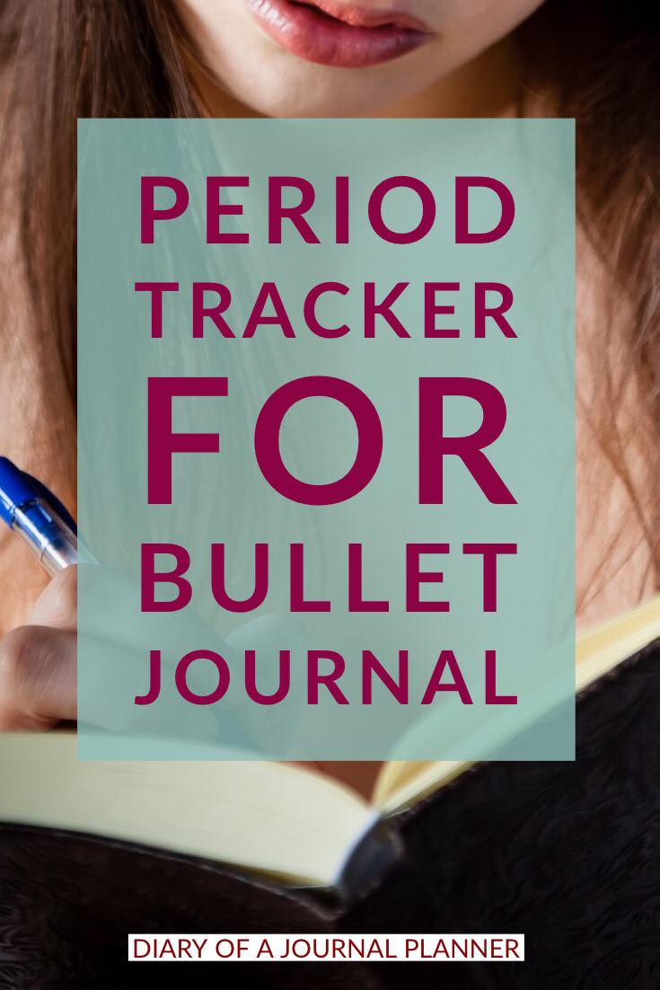 How to create a bullet journal shark week tracker with keys to check your keep track of your period yearly
