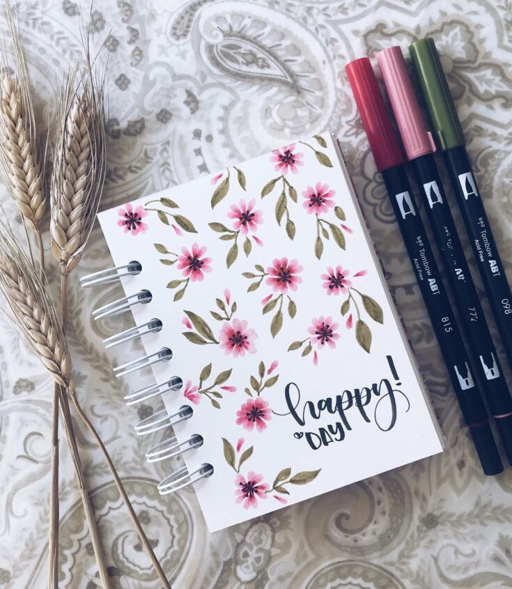 How To Decorate The Cover Of Your Bullet Journal