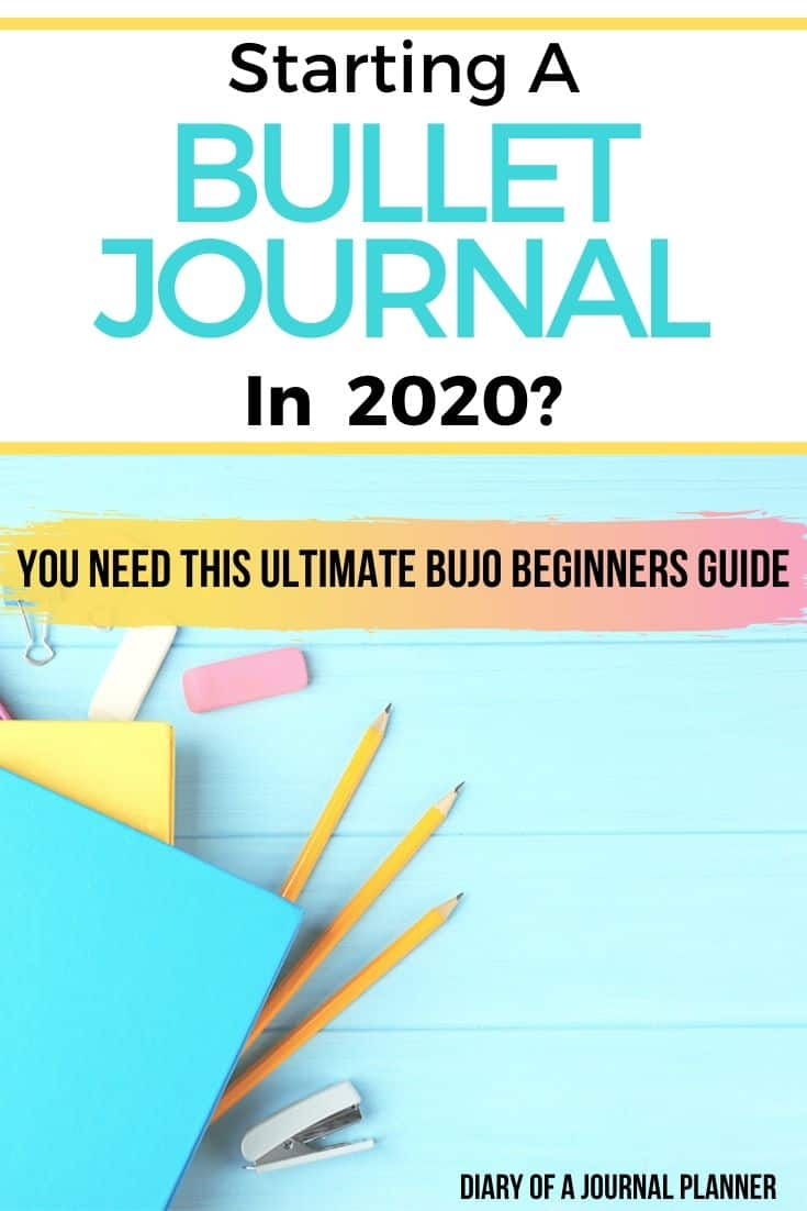 The Best Bullet Journal Beginners Guide! Learn all the Bujo hacks and tips with these Bullet Journal ideas. From the pages and spreads you need, to how to organize your bujo and more. #bulletjournal #bujo #bulletjournalbeginners #bulletjournalsetup #bulletjournalhacks