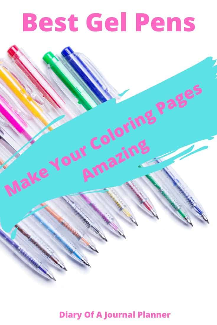 Gel Pens to buy
