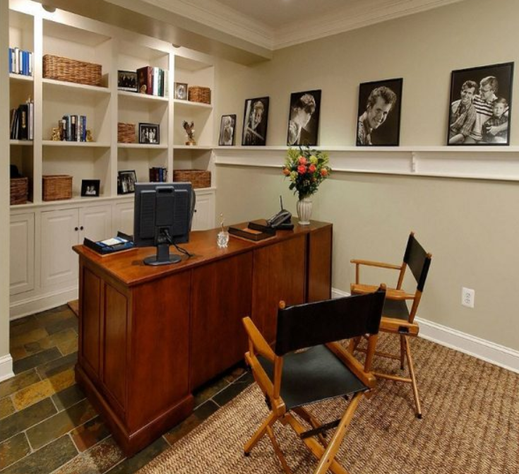 Home Office Idea: Basement