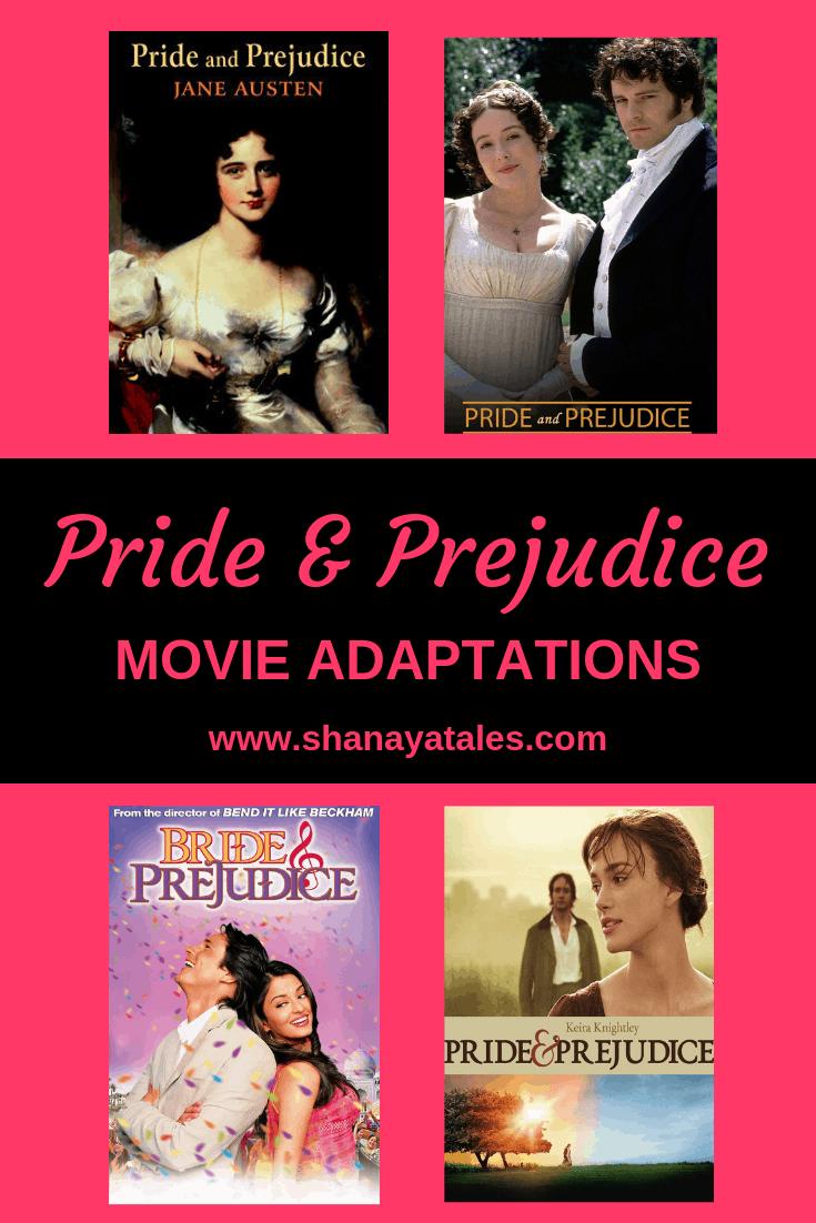 pride and prejudice movie adaptations