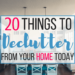20 Things You Need to Declutter From Your Home Right Now