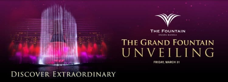 Okada Manila - The Fountain - Grand Unveiling