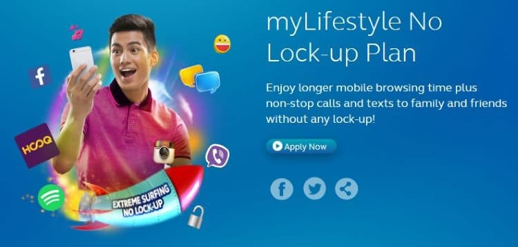 Globe myLifestyle No Lock-Up Plan