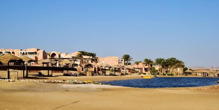 artificial lagoon at the Radisson Blu El Quseir