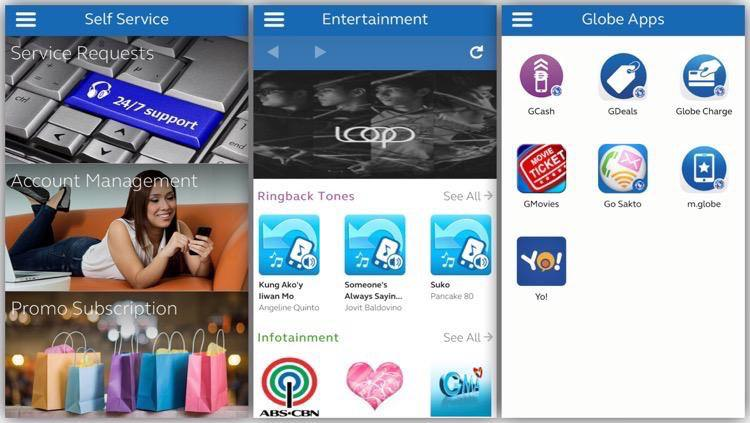 G Apps - Globe - GServices