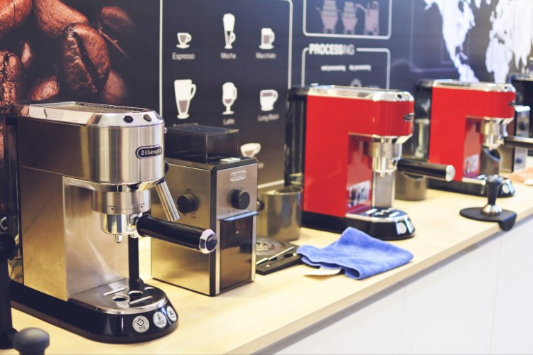 de'longhi - san remo - coffee workshop