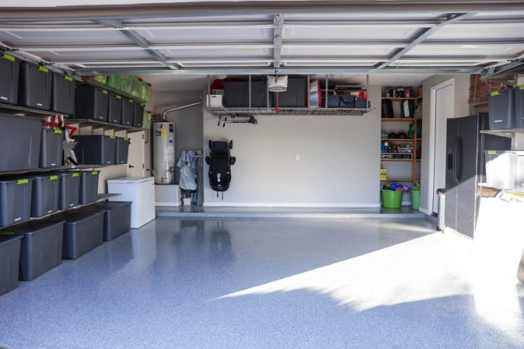 Declutter and Organize Garage