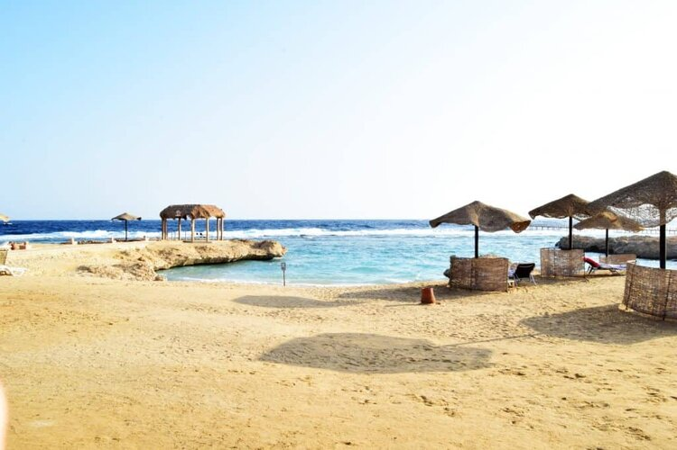 Marriot Mena House beach