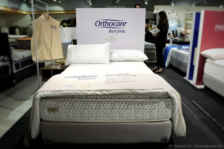 Uratex mattress - Orthocare Biorytmic