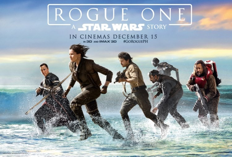 Rogue One mural - A Star Wars Story - Sky Dome - SM North Edsa