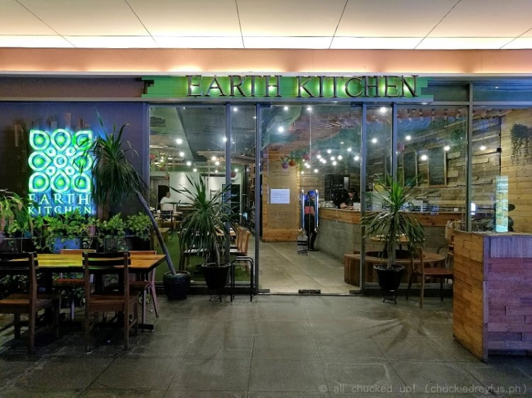 seats - earth kitchen - bgc
