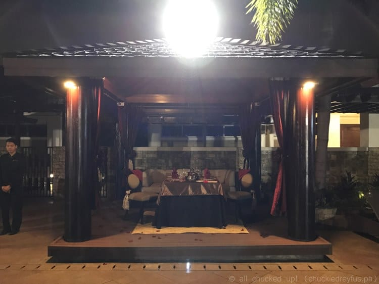 Dine Under The Stars - The Terrace of Maxim's Hotel - Resorts World Manila