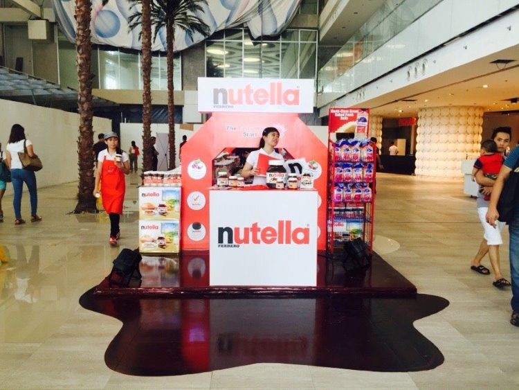 nutella pop-up store landmark trinoma
