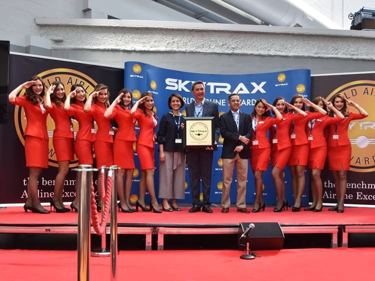 AirAsia - World's Best Low-Cost Airline - Skytrax World Airline Awards 2017