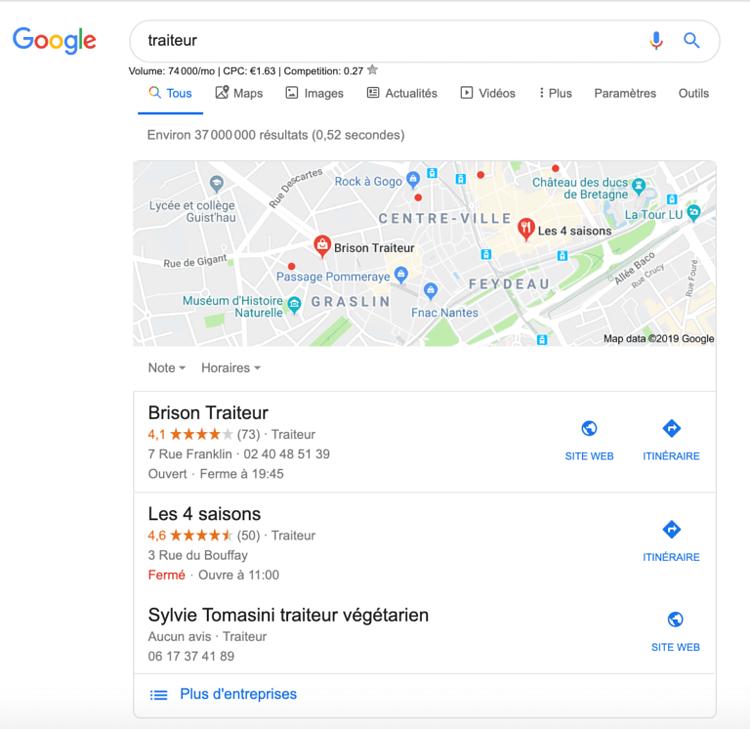 Google pigeon pack local